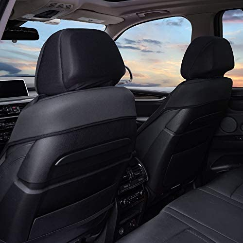 Gift Truck Fit Most Car Easy Installation Non-Slip Backing SUV Water Resistant or Van Black Color w FH Group FB088102 Neosupreme Car Seat Cushion Deluxe Quality