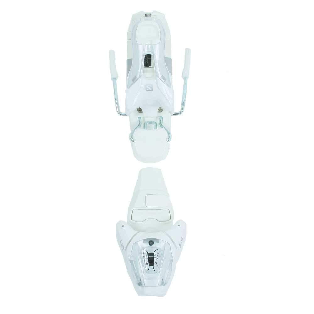 Salomon SKI SET E W MAX 4 + E Lithium 10 W Größe 150 White