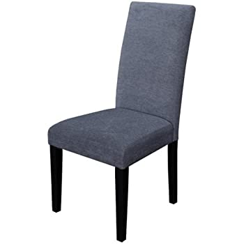 This Item Monsoon Pacific Aprilia Upholstered Dining Chairs, Smokey Blue,  Set Of 2
