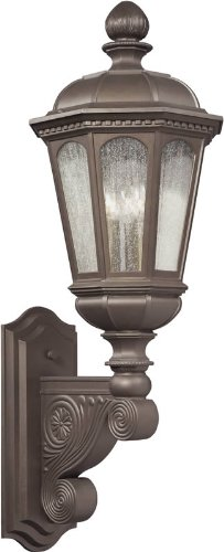 Kichler Lighting 9293LZ 3 Light Beacon Hill Outdoor Sconce, Legacy - Home Beacon Legacy