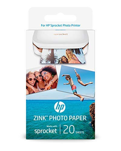HP Sprocket Photo Printer Bundle (60 Prints) by Crystal Flash Sales (Image #1)