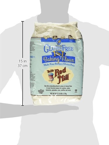 Bob's Red Mill Gluten Free 1-to-1 Baking Flour, 5 Pound by Bob's Red Mill (Image #8)