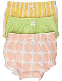 """Baby """"Bunch O'Bloomers"""" Three Bloomers for Blooming Bums, Multi, 0-6 months"""