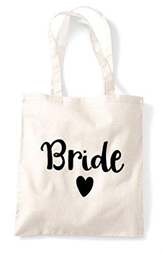 Natural Bride Design Shopper Tote Statement Heart Bag qf14A