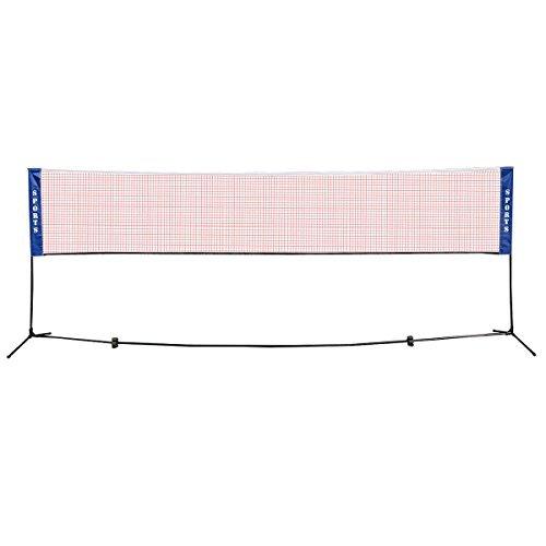 Badminton Beach Volleyball Tennis Portable Net Training Carrying Bag Set 10 X 5 FT
