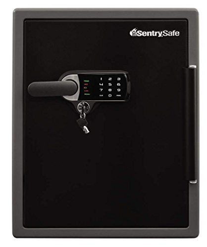 SentrySafe Fire and Water Safe, XX Large Touchscreen Safe with Dual Key Lock and Alarm, 2.05 Cubic Feet, SFW205UQC
