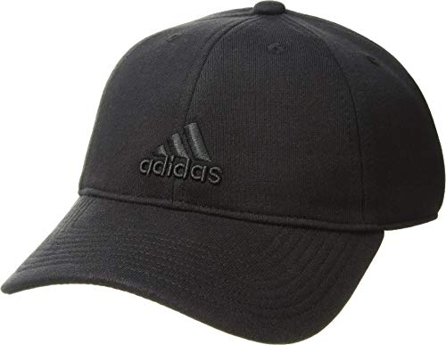 (adidas Women's Venture Relaxed Adjustable Strapback Cap, black, One Size)