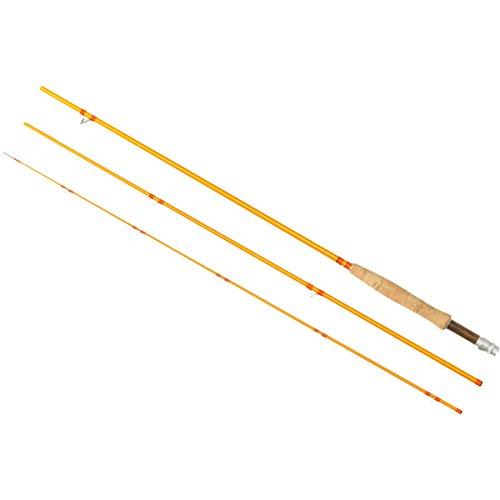 4wt 3 Piece (Redington Butter Stick Fiberglass Fly Rod W/Tube 4wt 7ft 6in)