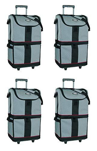 ArtBin Tote Express, Black/Gray Rolling Art Craft Storage Bag,6922SA (Pack of - Tote Express
