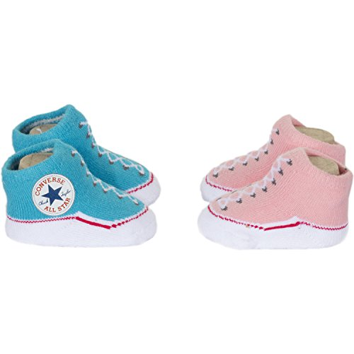 UPC 617846365363, Converse Classic Booties Gift Pack Baby Shoes One Size Messange Mallow Pink