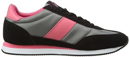 Lonsdale Lonsdale Imperial Nylon - Multisport Outdoor de sintético mujer gris - Grey (Grey/Black/Pink)