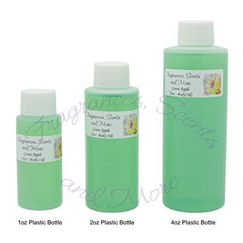 Green Apple Perfume/Body Oil (7 Sizes) - Free Shipping (1 Bottle 1/6oz Roll On (5ml)) ()