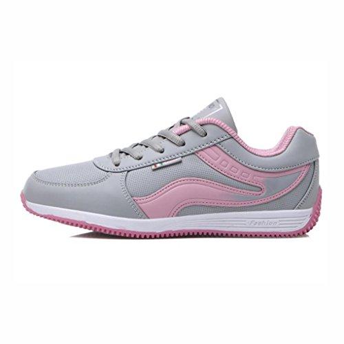 YaXuan Herbst Bequeme Turnschuhe Mode Farbe Ein 40 Laufschuhe Rutschfeste Athletische Frauen Schuhe Klassische beiläufige gehende Schuhe EIN Sport zufällige Leichte Größe 6Y7w6r0q
