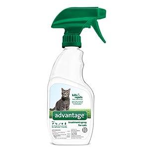Flea and Tick Treatment Spray for Cats, 12 oz, Advantage