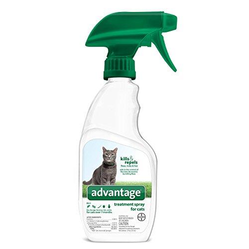 Bayer Animal Health Advantage Flea and Tick Treatment Spray Cat 12 oz ()