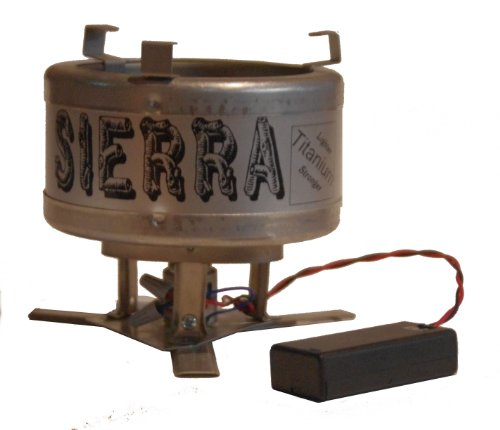 Sierra Stove – wood burning lightweight Titanium backpacking camp stove