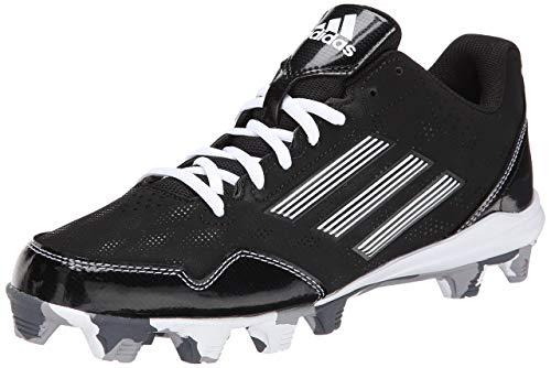 8b82c3c40790 adidas Performance Men's Wheelhouse 2 Baseball Cleat, Black/White, 6.5 M US