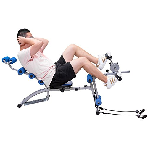 Multi-functional Twister AB Rocket Abdominal Trainer Bench Stepper - By Choice Products by By Choice Products