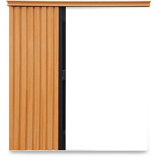ガーデン収納 物置 ディーズシェッド リコ D70 ライト Wh(111) カムロック錠 扉固定金具付き B07F9PV1ZZ