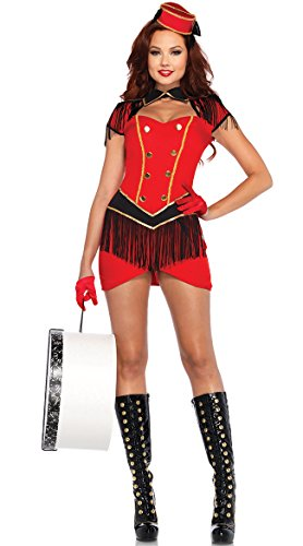 Fringed Circus Cutie Costume, Sexy Bell Hop (Bell Hop Costumes)