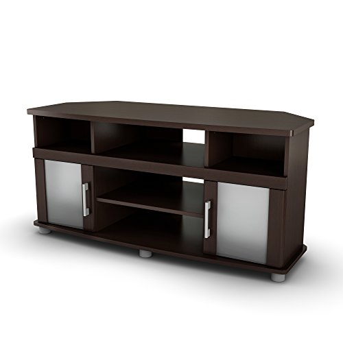 Collection 50' Tv Stand (City Life Corner TV Stand - Fits TVs Up to 50'' Wide - Chocolate - by South Shore)