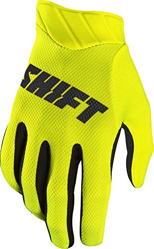 2017 Shift Black Label Air Mainline Gloves-Flo Yellow-XL