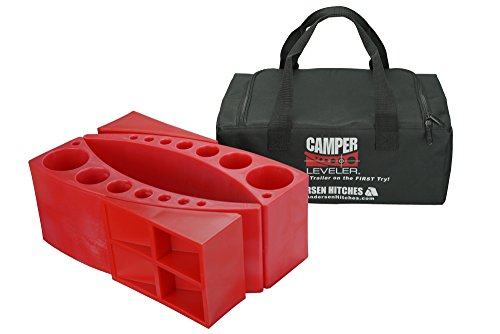 Andersen 2-Pack Camper Leveler Kit in a Sturdy Carry Bag With Double Handles by Andersen Hitches