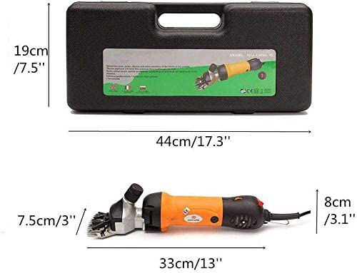 para Cortar Lanas Podadoras Electricas ZHCOM Port/átil Lana Tijera el/éctrica 690W y 6 Modos Ajustables para M/áquina de Granja Cabra