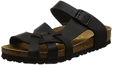 Birkenstock Gizeh Patent Black Patent Womens Sandals Size 37 EU sf0FE