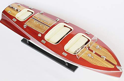 SHIPBO DECOR Chris Craft Wood Boat Model 25
