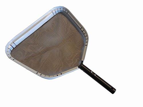 Aluminum Leaf Skimmer (JED Pool Tools 40-369 Professional Aluminum Frame Leaf Skimmer)