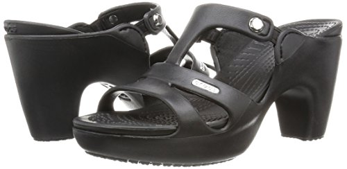 Escarpins Heel Noir black black W Crocs Femme V Cyprus pv6ZwpTqF