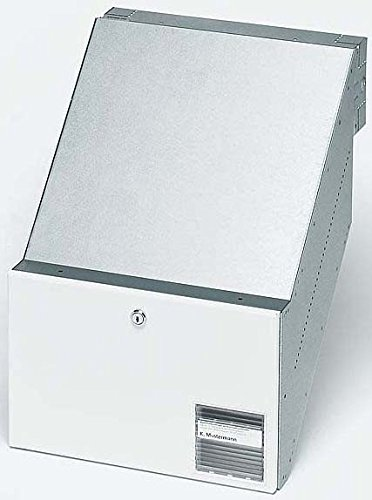 Siedle Durchwurfbriefkasten NACH DIN 32617 BKV 611-3/2-0 W, weiß, 2543562