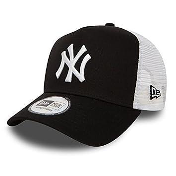 New Era Gorra Béisbol Malla cap en el Bundle con UD PAÑUELO New York Yankees LOS ANGELES DODGERS - NY Black/blanco, OSFA (One Size fits all)