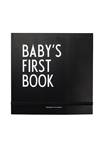 Design Letters - Baby's First Book - Memory Scrapbook (Black) ()