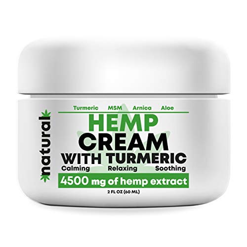 Organic Hemp Pain Relief Extract 4500 Mg, Made in USA, Non-GMO, Natural Hemp Oil for Joint Pain