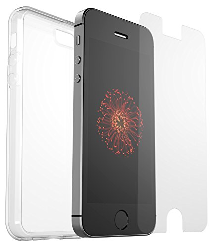Apple iPhone SE (iPhone 5/5S), OtterBox Clearly Protected Transparent Skin...