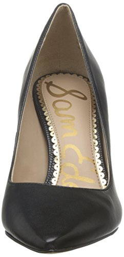 Sam Black Noir Escarpins Femme Edelman Hazel Leather rIw8Xr