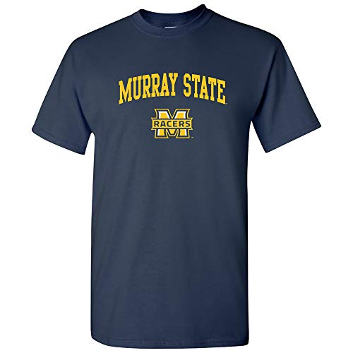 - AS03 - Murray State Racers Arch Logo T-Shirt - Small - Navy