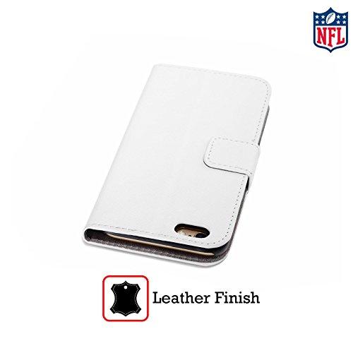 Officiel NFL Football Chicago Bears Logo Étui Coque De Livre En Cuir Pour Apple iPhone 5 / 5s / SE