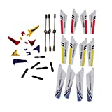 Hofumix Full Replacement Parts Set Head Cover for Syma S107G RC Helicopter Random Color