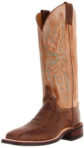 Justin Boots Womens Usa Bent Rail Collection 13 Stivali Arizona Mocha / Annebbiato Cammello