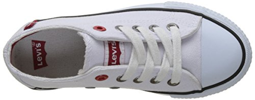 Levis Trucker Low Lace - Botas Niños Blanc (White)