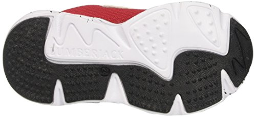 Lumberjack Jungen Wrap Bright Low-Top Rosso (White/Grey/Red)