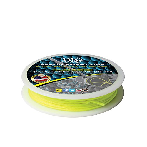 AMSBowfishing L20-25 25-Yards 200-Pound Bowfishing Line - Yellow