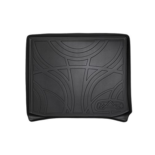 - MAX LINER D0150 All Weather Custom Fit Cargo Trunk Liner Floor Mat Black for 2014-2019 Jeep Cherokee