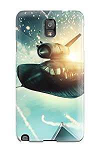 Alpha Analytical's Shop 6361847K27486106 New Arrival Cover Case With Nice Design For Galaxy Note 3- X Men First Class Fighter Jet
