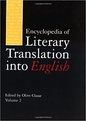 e1d45b066 Encyclopedia of Literary Translation into English  Olive Classe ...