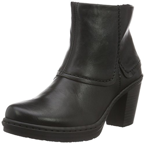 Rieker Y1554, Botines para Mujer Negro (schwarz / 01)