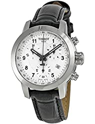 Tissot T055.217.16.032.02 Silver Dial Leather Strap Ladies Watch